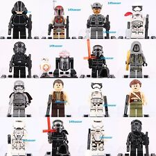 16pcs Star Wars Storm Trooper Kylo Ren BB-8 Resistance Soldier Lego Minifigures