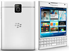 Deal 14: New Imported BlackBerry Passport 32GB White With EnglishArabic Keyboard