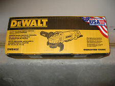 DeWALT DWE402 4-1/2-Inch 11-Amp Paddle Switch Angle Grinder - BRAND NEW IN BOX