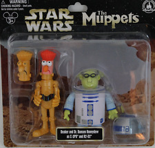 NEW K Disney Star Wars Tours Muppets Beaker C3PO Bunsen Honeydew R2 D2 Figures