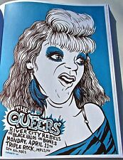 The Queers  Band Mini Concert Poster Reprint for Minneapolis 2005  Gig 14x10