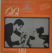 """OST - SOUNDTRACK - GIGI / LILI - ANDRE PREVIN 12"""" LP (M968)"""