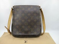 100% Authentic Louis Vuitton Monogram Musette Salsa Short shoulder Browns bag