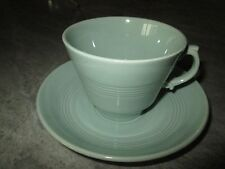 WOODS WARE BRITISH EARTHENWARE  CUP AND SAUCER IN BERYL