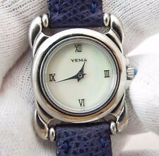 YEMA, Designer, Classic Round, Swiss Quartz, Lovely RARE LADIES WATCH,1323,L@@K
