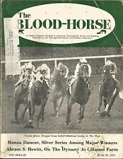 1977 Blood Horse magazine Seattle Slew Forego Crystal Water Ancient Title Talc