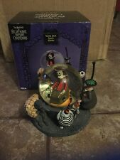 NECA Nightmare Before Christmas SANTA JACK Jack Skellington Snow Globe NEW 2002