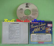 CD ROMANTICI SCATENATI 50 44B SENTIMENTAL compilation 1994 COLTRANE DAVIS (C27*)