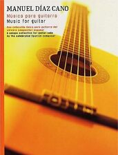 Manuel Diaz Cano Music For Guitar Learn to Play Spanish Music Book