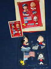2004 Hallmark THE PEANUTS GAMES Olympic Ornaments SNOOPY CHARLIE BROWN LUCY ...