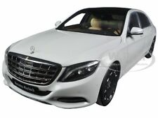 MERCEDES MAYBACH S CLASS S600 WHITE 1/18 MODEL CAR BY AUTOART 76291