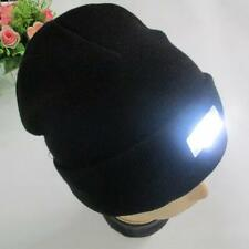 Fashion 5 LED lighted Cap Hat Winter Warm Beanie Angling Hunting Camping Running