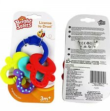 Bright Starts Baby Kid Child Toy Clanking Keys Set Teether Shower Gift Toy BWT