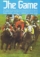 HORSE RACING / MEL HOPKINS / PADDY HOPKIRK The Game no. 48