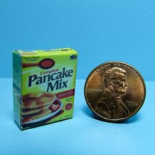 Dollhouse Miniature Replica Box of Pancake Mix ~ G054