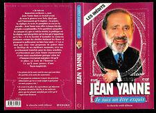 """Jean Yanne : Je suis un être exquis """" Les pensées """" Editions Le Cherche Midi"""