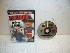 Murder in Coweta County DVD Out Of Print Johnny Cash Andy Griffith