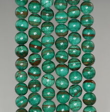 6MM  MALACHITE LACE JASPER GEMSTONE GRADE AA  ROUND LOOSE BEADS 16""