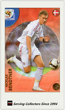 2010 Panini World Cup Soccer Trading Card Common No71 Nicklas Bendtner (Danmark)