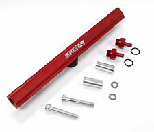OBX RED Fuel Injection Rail Fits 1989 To 1998 Nissan 240SX KA24DE Top Feed