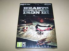 Hearts of Iron III (PC CD) ** New Sealed**