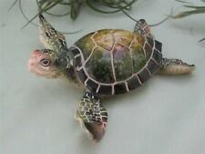 GREEN SEA TURTLE Old Soul RESIN Realistic Sculpture