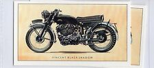 #13 vincent black shadow motorcycle card