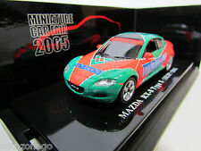CAR FAIR 2005 LE MANS COLOR FULL LIVERY KYOSHO 1/64 MAZDA SPECIAL VERSION