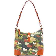 Dooney & Bourke Camouflage Duck Hobo