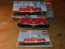 Lego 7755 Eisenbahn Train 12V Lok Loc mit OVP + Anleitung!100 % vollständig!!!