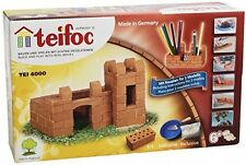 Teifoc 4000-medio Castillo-construir con Real ladrillos y cemento Niños Juguete Nuevo