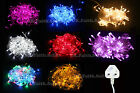 100/200/300 Bulbs UK Plug Christmas Tree Party Wedding LED String Fairy Light