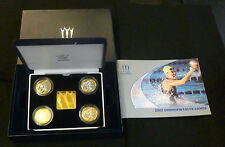 Royal Mint Manchester Commonwealth Games 2002 4-Coin Silver Proof £2 Boxed Set