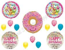 SHOPKINS DONUT  HAPPY Birthday Party Balloons Decoration Supplies Sprinkles