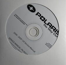 2000-2009 POLARIS SNOWMOBILE YOUTH 120 SERVICE MANUAL CD P/N 9922000-CD  (403)