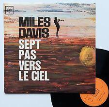 """Vinyle 33T Miles Davis  """"Sept pas vers le ciel - Seven steps to heaven"""""""