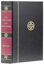 Septuagint with Apocrypha: Greek and English