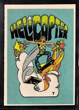 1978 ALL PRO SKATEBOARD #7 HELICOPTER SKATE CARD