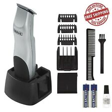 Wahl Beard Trimmer Mustache Clipper Shaver Cordless Battery Hair Razor Men