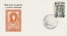 Poland postmark CZESTOCHOWA - religion church JASNA GORA (analogous)
