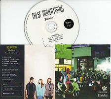 FALSE ADVERTISING Brainless 2016 UK 5-trk promo test CD