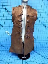Sideshow 1:6 Lord Of The Rings Aragorn Strider Ranger figure - brown Jerkin
