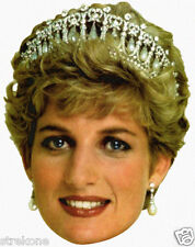 PRINCESS DIANA of Wales The Royal Family Big HEAD - WINDOW CLING Decal Sticker