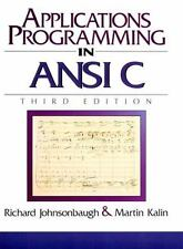 Applications Programming in ANSI C 3rd Edition