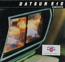 1981 DATSUN by Nissan 510 Brochure / Catalog: DeLuxe, Station Wagon,