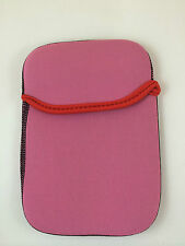 "FUNDA DE NEOPRENO 8"" PULGADAS PARA TABLET EBOOK COLOR ROSA"