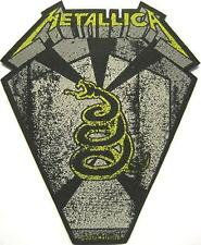 """METALLICA PATCH / AUFNÄHER # 45 """"BLACK ALBUM"""""""