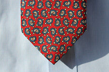 Wittcomb & Keith Gentleman's Red, White, & Blue Paisley Necktie