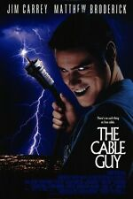 THE CABLE GUY 27x40 D/S Original Movie Poster One Sheet JIM CARREY 1996