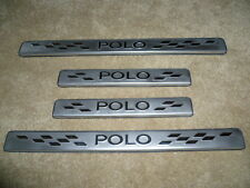 VW POLO DOOR SILL PLATES 2011 - 2016  - Stainless Steel